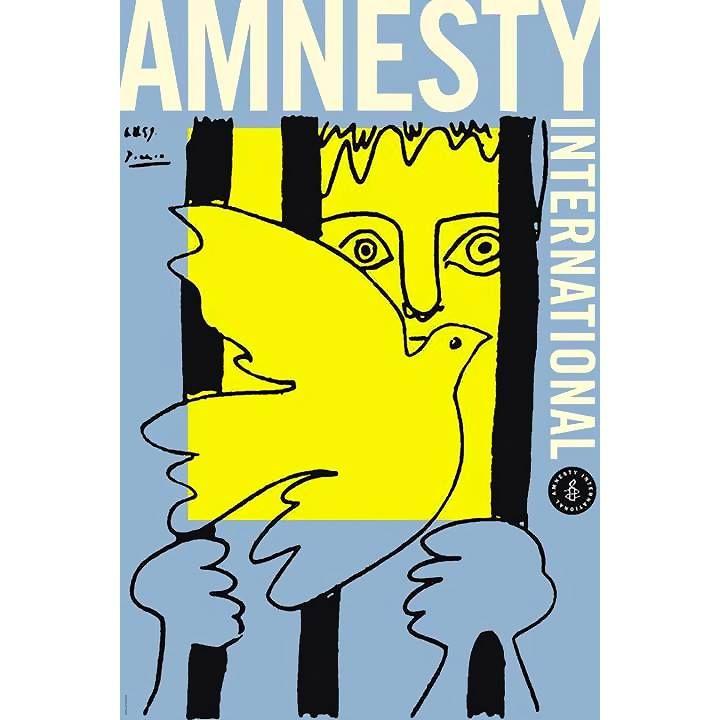 En 1961 Pablo Picasso donó un cartel para la recién fundada Amnistía Internacional un cartel titulado La paloma y el prisionero que representa simultáneamente la injusticia y la esperanza.   El mensaje de este cartel es tan vigente ahora como hace 53 años. Te invitamos visitar nuestro sitio en www.amnistia.org.mx/proyectos y firmar nuestras peticiones para así contribuir a nuestro objetivo de convertir la injusticia en esperanza.