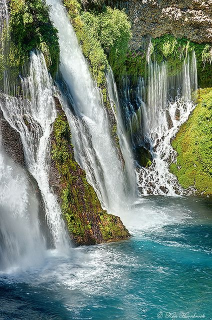 McArthur–Burney Falls Memorial State Park, California » I really should go here, it looks beautiful!