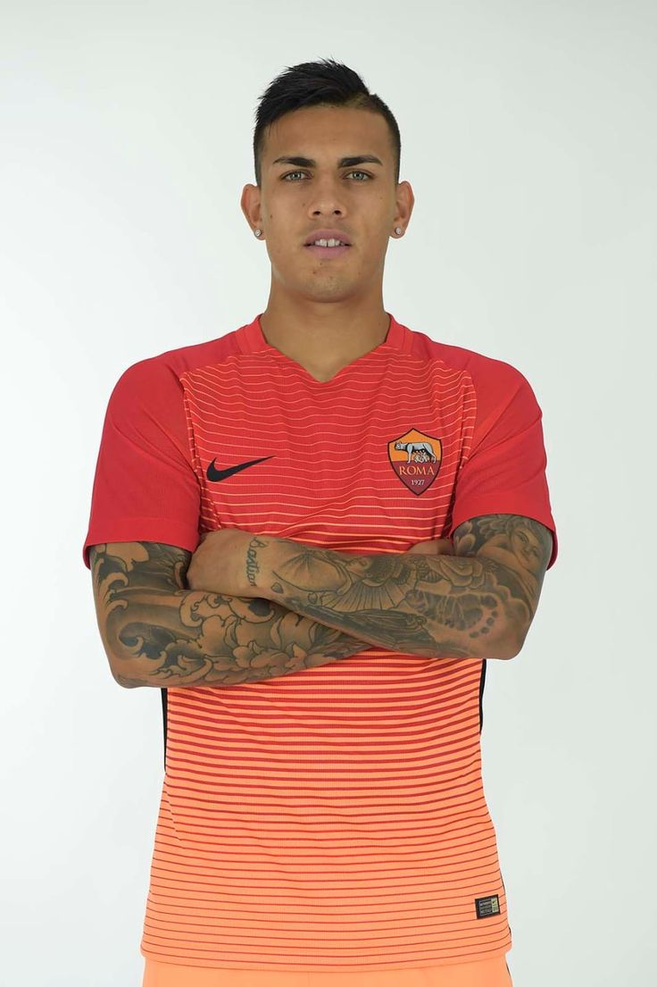 Midfielder Leandro Paredes was the first player to try on the new third strip - see exclusive images of him wearing the kit