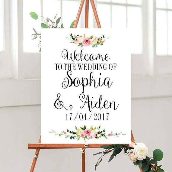 Wedding Welcome Sign, Wedding Printables, Wedding Signs Printable, Welcome to Our Wedding Sign, Custom wedding sign, Vintage, Black And Gold