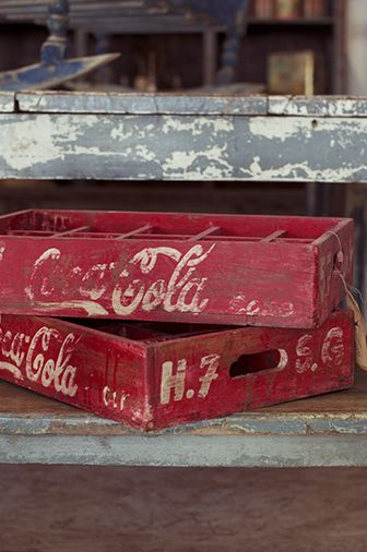 Old coke Boxes!!!