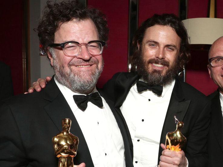 Casey Affleck and Kenneth Lonergan, Oscars 2017