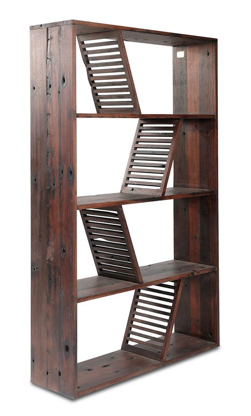 Lovely This Designer Reclaimed Wood Bookcase Boasts History Wrapped In A Modern  Package. The Shipwood Dark Nice Look