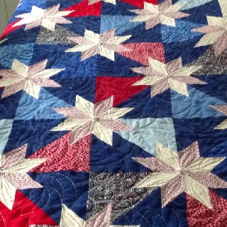 29 best Quilting - Hunter's Star images on Pinterest | Hunters ... : hunter star quilt pattern - Adamdwight.com