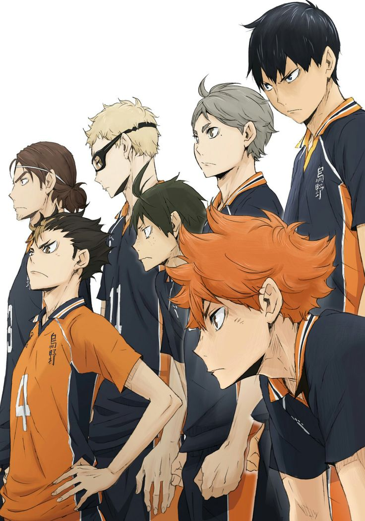 #Karasuno #Haikyuu #Anime