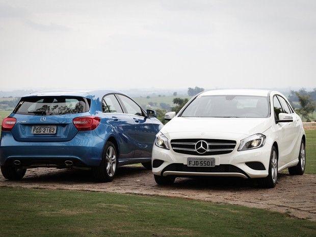Mercedes-Benz Classe A (Foto: Caio Kenji/G1)