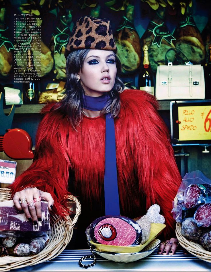Lindsey Wixson by Giampaolo Sgura for Vogue Japan October 2014
