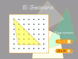 Geoplano interactivo