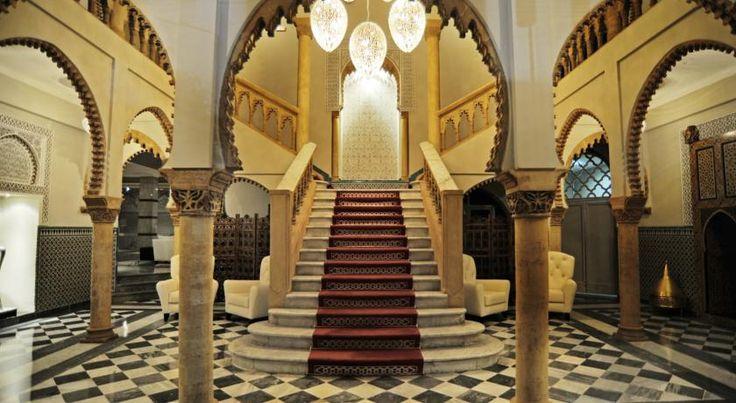 泊ってみたいホテル・HOTEL モロッコ>ラバト>典型的なムーア・アンダルシア様式で建築された高級ホテル>ホテル ラ トゥール ハッサン(Hôtel La Tour Hassan)