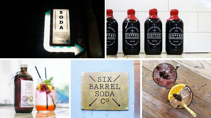 Six Barrel Soda Co. - Six Barrel Soda Co. is an independent company producing weird, wonderful, handmade, all-natural soft drinks in Wellington, New Zealand.  Established in 2012 by Joseph Slater and Mike Stewart, Six Barrel Soda Co. grew...read the rest of their story here: http://www.cookandnelson.com/collections/six-barrel-soda-co