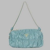 Prada First Choice for The Season 8610L blue sheep drape single shoulder bag: Pastel Accessories, Summer Pastel