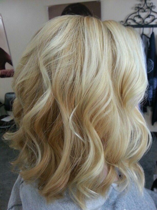 Platinum Blonde Hair With Highlights Honey blonde and platinum