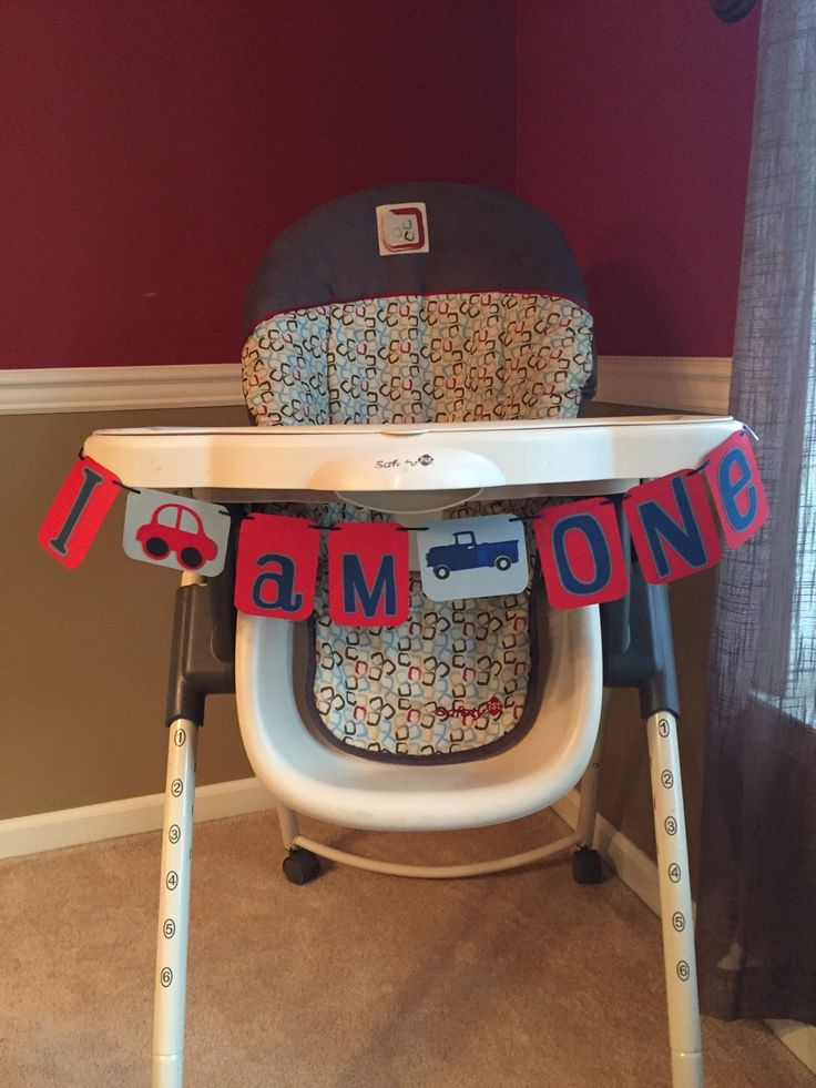 A personal favorite from my Etsy shop https://www.etsy.com/listing/250688440/cars-trucks-theme-i-am-one-birthday-high