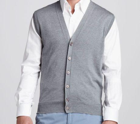 vest wool