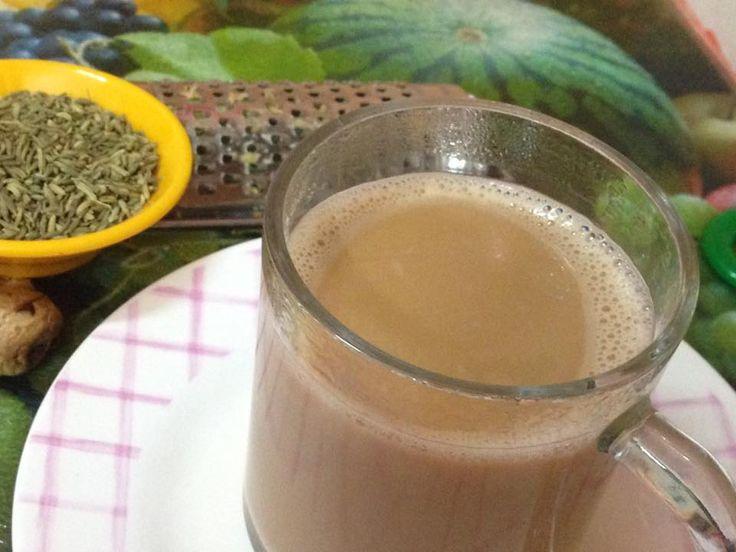 Adrak Sauf Chai (Ginger Fennel Tea) - My Favorite Beverage