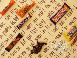 Candy Gram by ChocolateCheese
