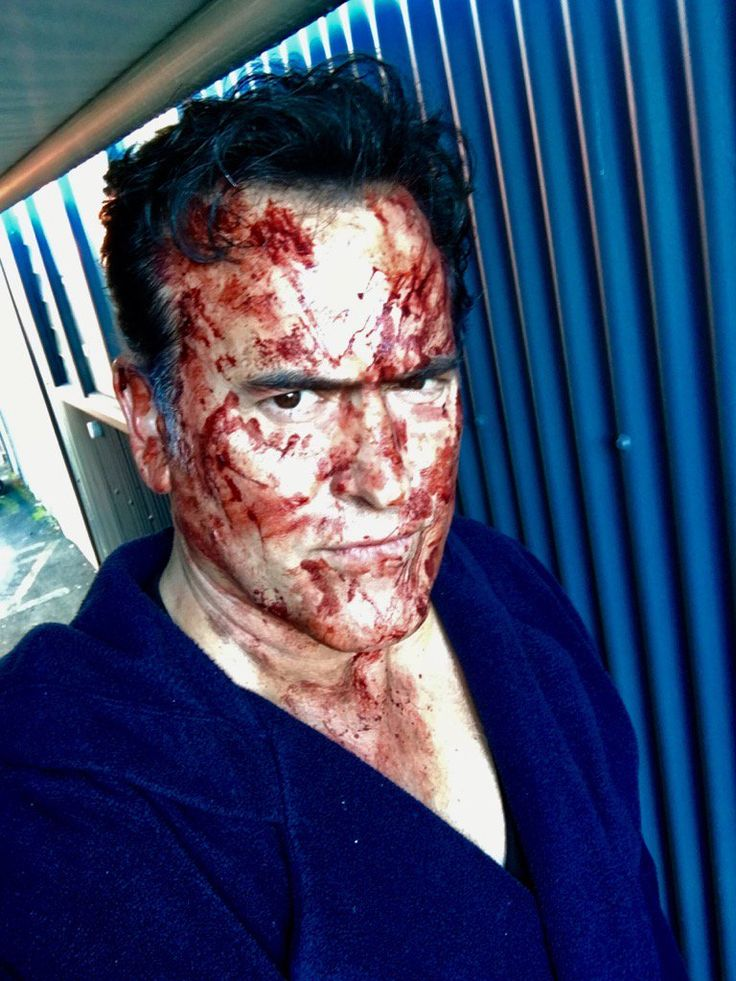 """""""You should see the other guy."""" ~Bruce Campbell"""