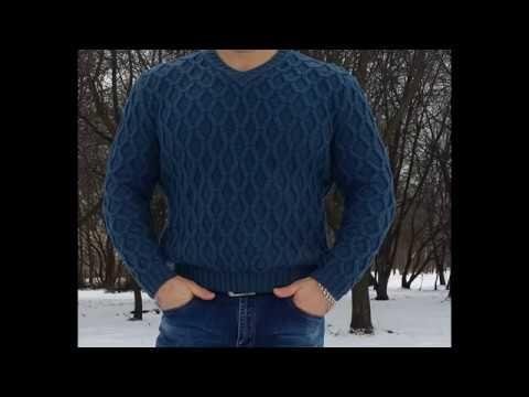 6b837ac888d6 Расчеты на мужской пуловер. 1 часть. - YouTube   Вязание   Мужской свитер,  Свитер и Мужской повседневный стиль