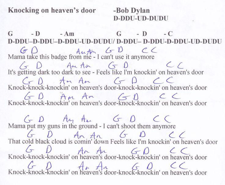 Bob Knockin On Heaven S Door 2nd Drill Uk   Kotaksurat.co