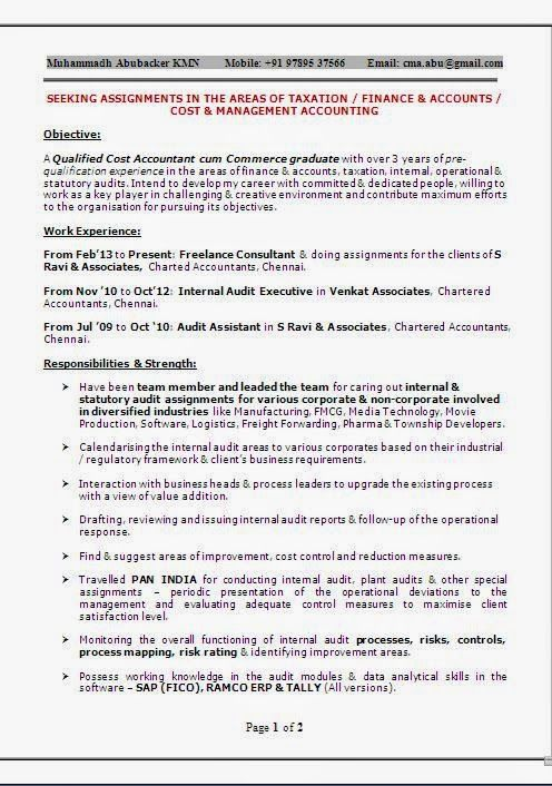 freight forwarder resumes