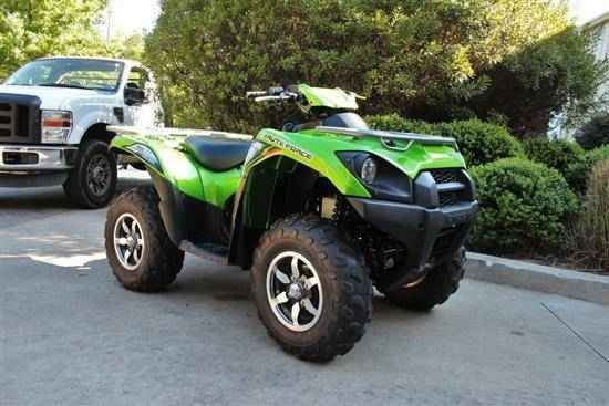 Used 2014 Kawasaki BRUTE FORCE 750 4X4I EPS ATVs For Sale in Georgia. 2014 Kawasaki Brute Force® 750 4X4iPowered by a 749cc, 90-degree V-twin, the Brute Force® 750 4x4i serves up the perfect recipe of amazing torque and impressive strength to devour just about any obstacle the trail will throw at it. Kawasaki®'s flagship ATV showcases the trickest technology in everything from its dual-range four-wheel drive to self-repairing radiator circuit breaker. These innovations, along with a highly…