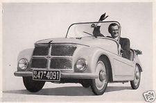 KLEINSCHNITTGER aus ARNSBERG * micro car * orig. Sammelbild * 50er Jahre *