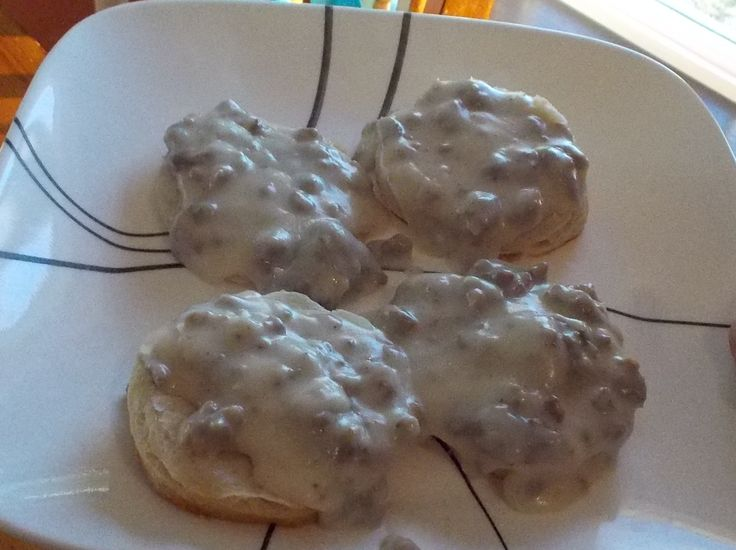 Quick and Easy Biscuits and Gravy