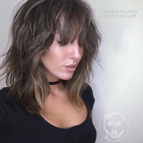 styling tips for shoulder length hair 17 best ideas about front highlights on 7490