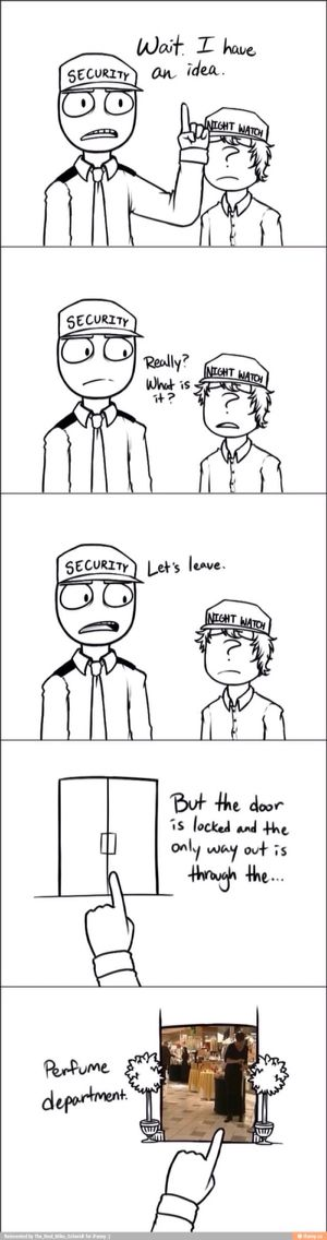 I personally dont like the drawings of mike and jeremy. But this is really funny.