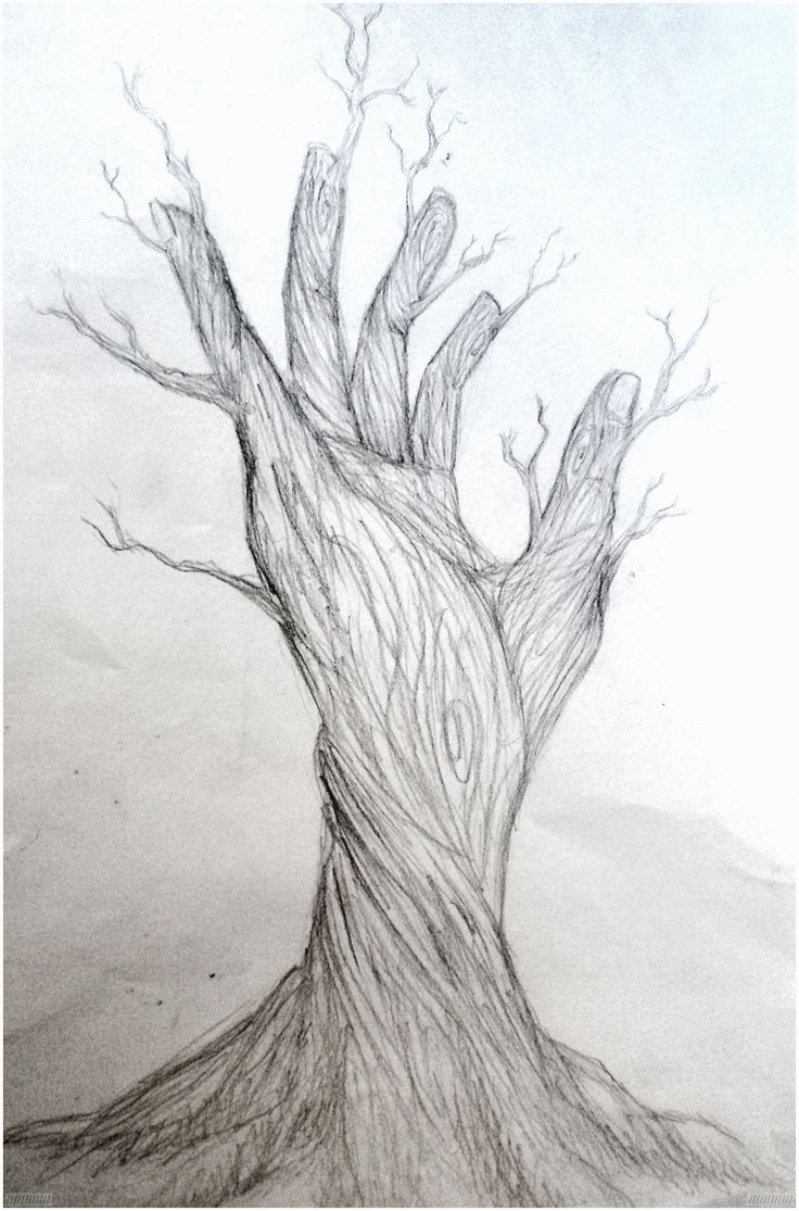 nature pencil drawings easy drawing sketches surreal hybrid simple abstract tree surrealismus kunst zeichnungen traditional realistic gemerkt result sketching lovers