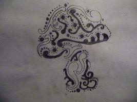 best 25 mushroom tattoos ideas on pinterest mushroom drawing botanical drawings and fungi images. Black Bedroom Furniture Sets. Home Design Ideas