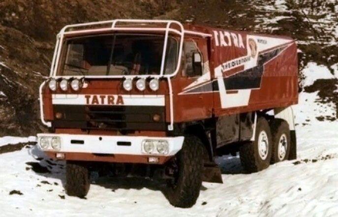Tatra 815 - DAKAR 1988