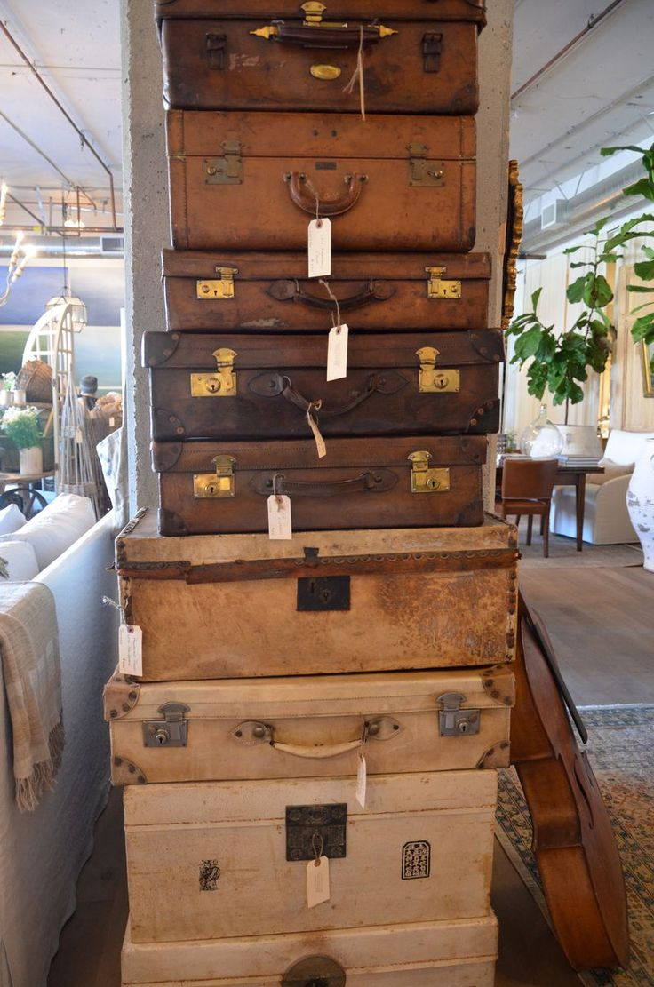 Old Suitcases Best 20 Old Luggage Ideas On Pinterest Vintage Suitcases Old