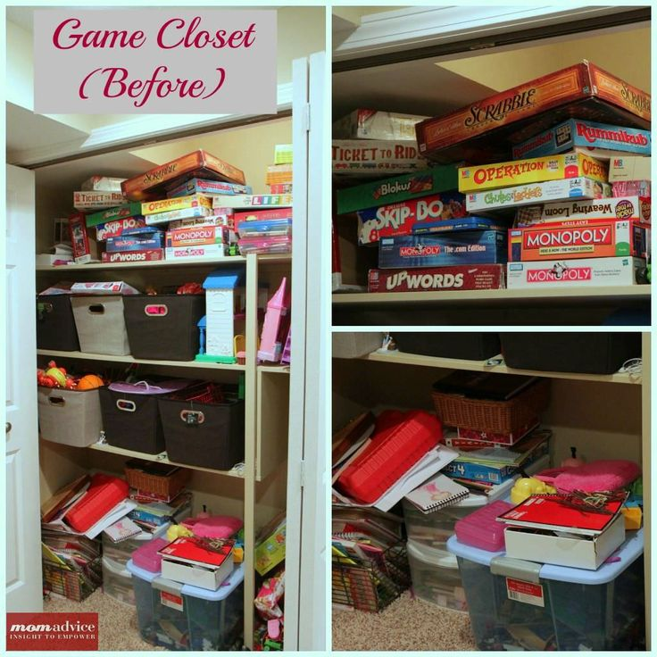 How to Organize Board Games Truly awesome way to organize all those games!