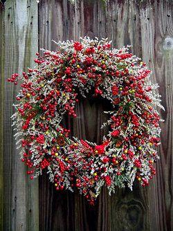 Beautiful wreath.