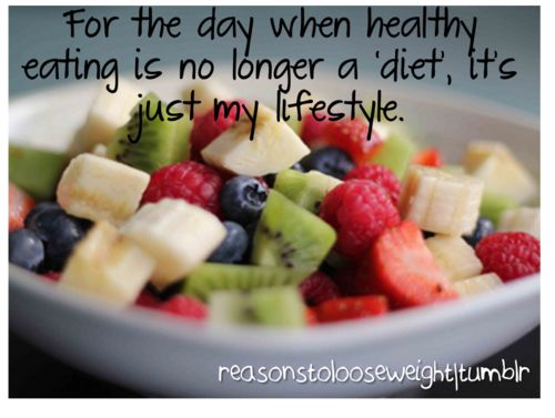 Healthy lifestyle...good word.