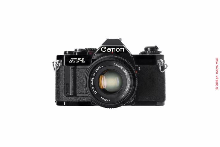 Canon AV-1 New 1979 : collezione privata | Marco Mioli