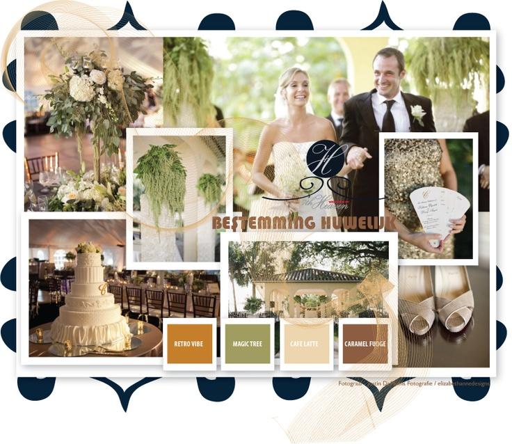 Bronzen bruiloft thema – de ultieme kleur van elegante bruiloft thema's!