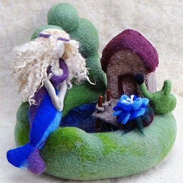 Blaue Blume © Brigitte Abt-Harrer