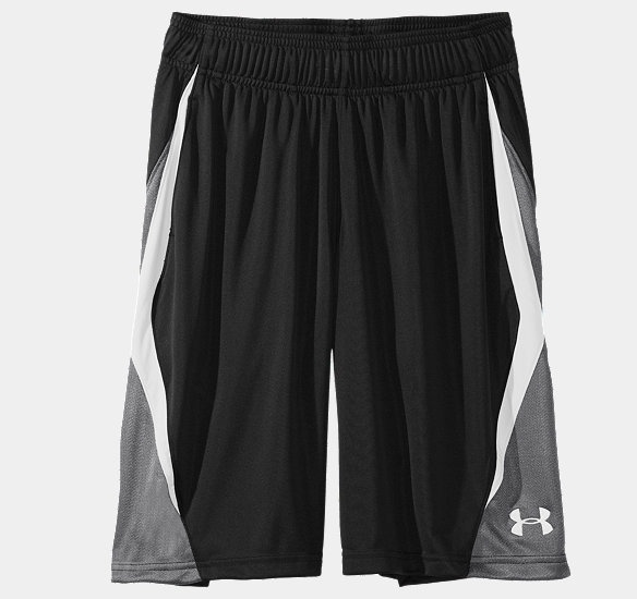 "Boys' UA Albesure 10"" Basketball Shorts 