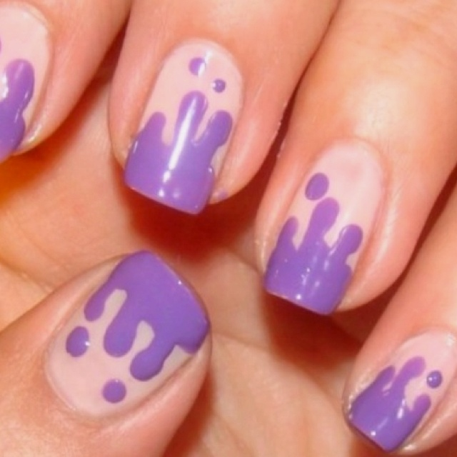 44 best nail designs images on pinterest cool nail art cool nails with dripping designs prinsesfo Choice Image