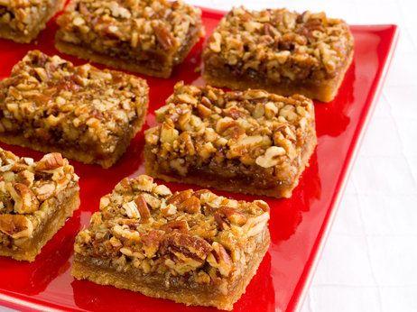 America Test Kitchen Pecan Cookie Bars