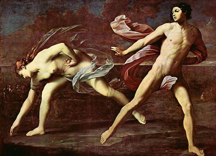 Atalanta e Ippomene. Autore, Guido Reni