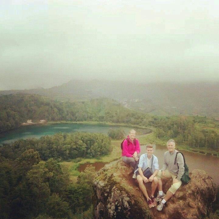 Color Lake, Dieng, Wonosobo, Indonesia