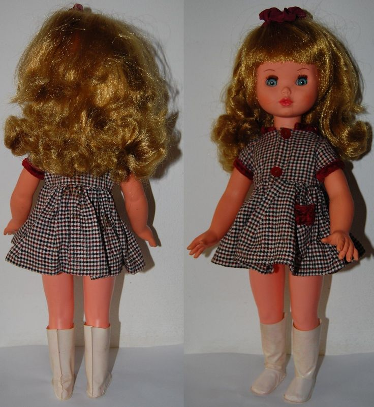 FURGA 3P ALTA MODA bambola PATRIZIA - 1968 abito non originale