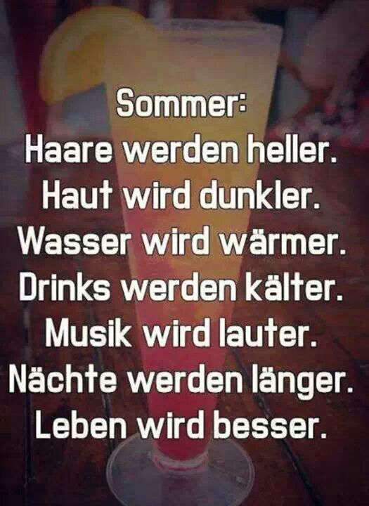 Ich will Sommer!