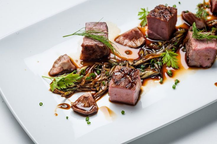 Graham Campbell shares a fantastic recipe for chargrilled duck breast, serving the succulent meat with shiitake mushrooms and soy spring onions