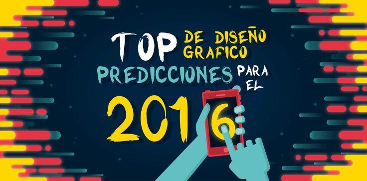 Tendencias en el #DiseñoGrafico para el 2016 https://ernestoolivares.es/diseno-grafico-2016-tendencias/