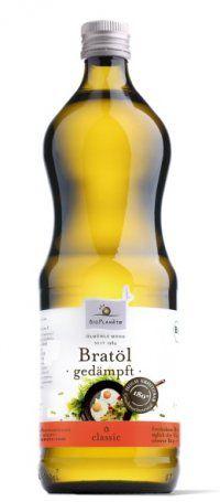 Bio-Bratöl - Bio Planète 100 % high oleic (ölsäurereiches) Sonnenblumenöl  Für Paleo-Majo als geschmacksneutrales Öl  - gesättigte Fettsäuren 7 g - einfach ungesättigte Fettsäuren 78 g - mehrfach ungesättigte Fettsäuren 5 g