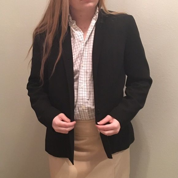 black suit jacket Great condition ❌NO TRADES❌ Don't like the price? Make an offer! Dress Barn Jackets & Coats Blazers